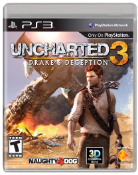 Uncharted 3 Box Art