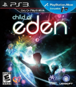 Child of Eden PS3 Box Art