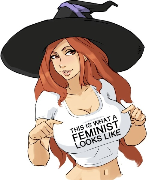 Sorceress is feminist