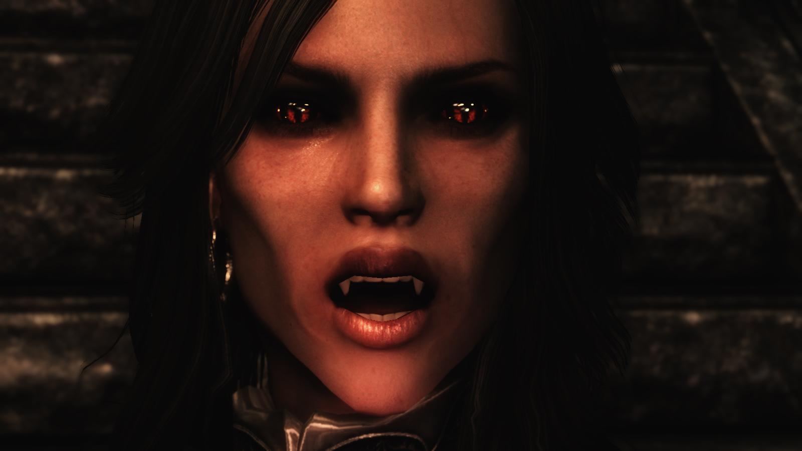 Как сделать так чтобы в скайриме если ты вампир