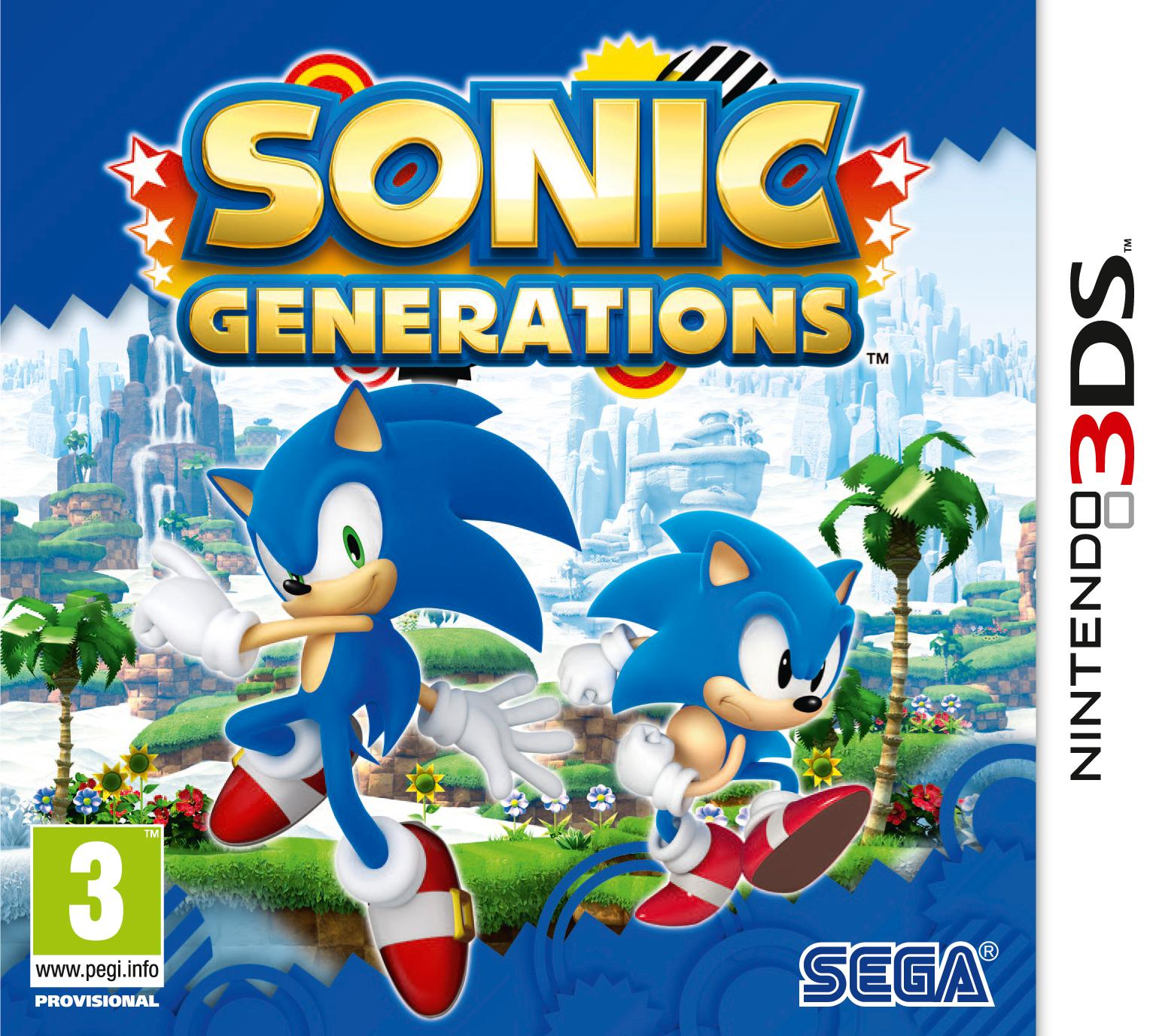 Sonic Generations 3DS Release Date Announced | PixlBit
