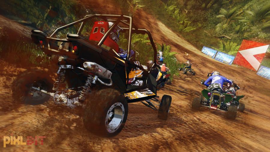 Фото Mad Riders лучше отражают атмосферу игры, чем пусть даже очень качеств